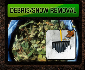 Wall debris and snow removal